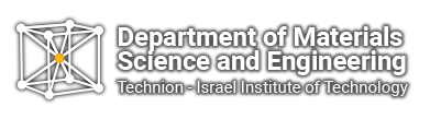 logo Faculty of Materials Science and Engineering, Technion